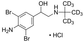 Sigma-Aldrich/Brombuterol-(tert-butyl-d9) hydrochloride/35396-10MG/10MG