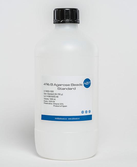 ABTbeads/4% B Agarose Bead Standard (50-150µm)/A-1040S-500