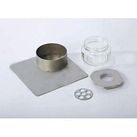 Braintree/Dyets Powder Feeder Jar Setup/jar, follower & lid, no base/DYETSJAR-FOLLOW
