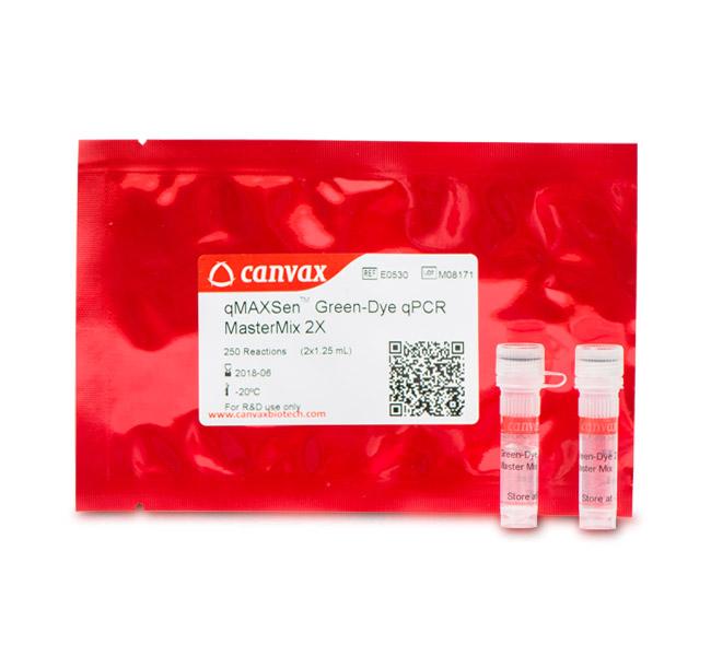 Canvax™/qMAXSen™ Green qPCR MasterMix (Low ROX™)/2 x 1.25 mL (250 rxn)/E0531