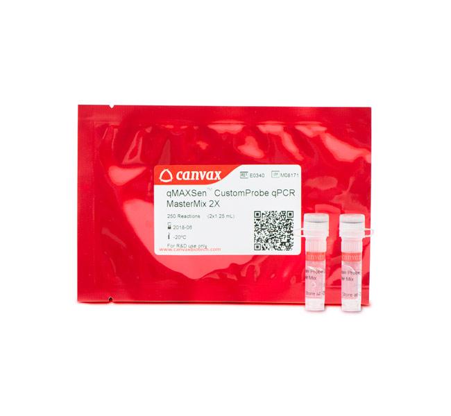Canvax™/qMAXSen™ Probe qPCR Mastermix (ROX™)/16x 1.25 mL (2,000 rxn)/E0341