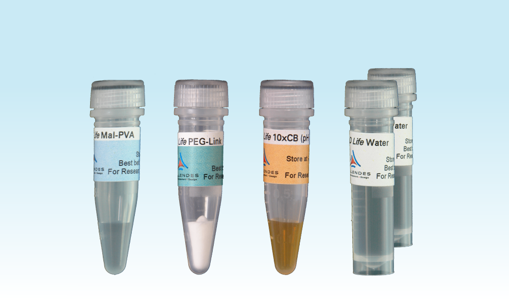 Cellendes/3-D Life PVA-PEG Hydrogel FG/Allows formation of up to 2 ml/FG80-1