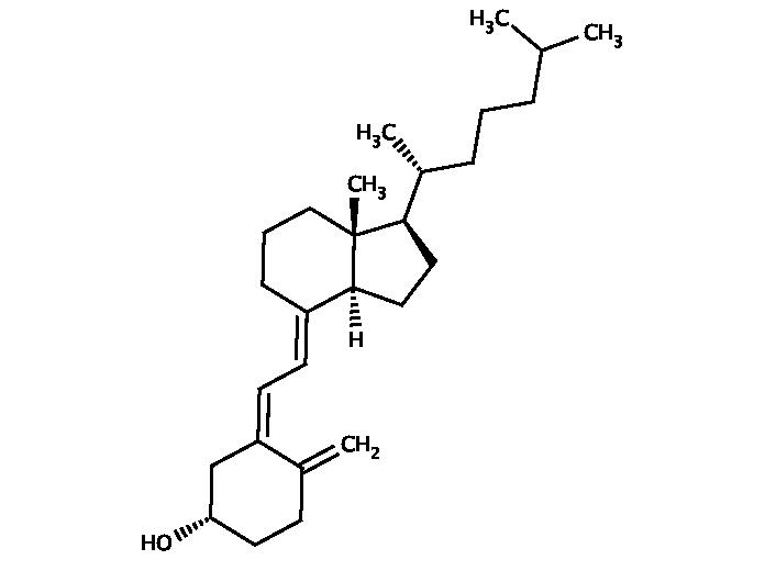 Glentham/GV0048 - Cholecalciferol (67-97-0)/1g/GV0048-1G