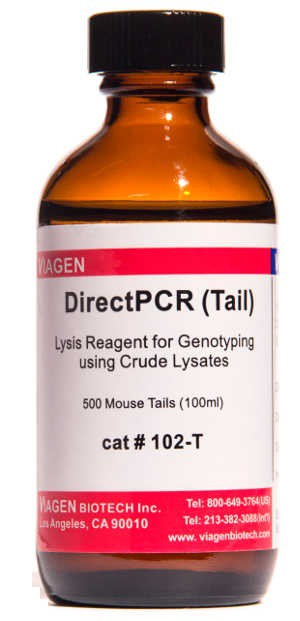Viagen/DirectPCR Lysis Reagent (Mouse Tail) 100ml/102-T
