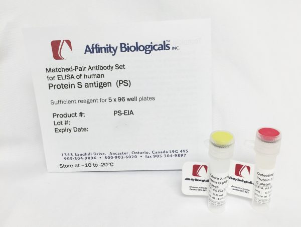 affinity biologicals/Protein S Paired Antibody Set for ELISA/PS-EIA