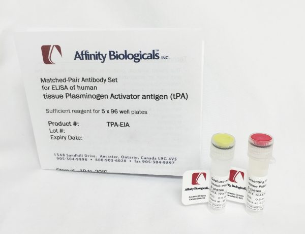 affinity biologicals/tPA Paired Antibody Set/tPA-EIA