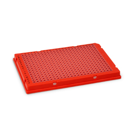 Bio-Rad/Hard-Shell<sup>®</sup> 384-Well PCR Plates, thin wall, skirted, red/clear #HSP3811/HSP3811/