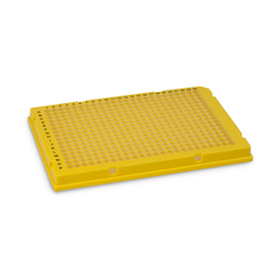 Bio-Rad/Hard-Shell<sup>®</sup> 384-Well PCR Plates, thin wall, skirted, yellow/clear #HSP3821/HSP3821/