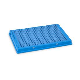 Bio-Rad/Hard-Shell<sup>®</sup> 384-Well PCR Plates, thin wall, skirted, blue/clear #HSP3831/HSP3831/