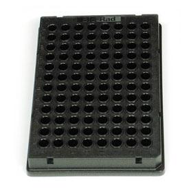 Bio-Rad/Microseal<sup>®</sup> 96-Well PCR Plates, low profile, skirted, black #MSP9661/MSP9661/