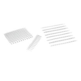 Bio-Rad/0.2 ml 12-Tube PCR Strips and Domed Cap Strips, high profile, clear #TBC1202/TBC1202/