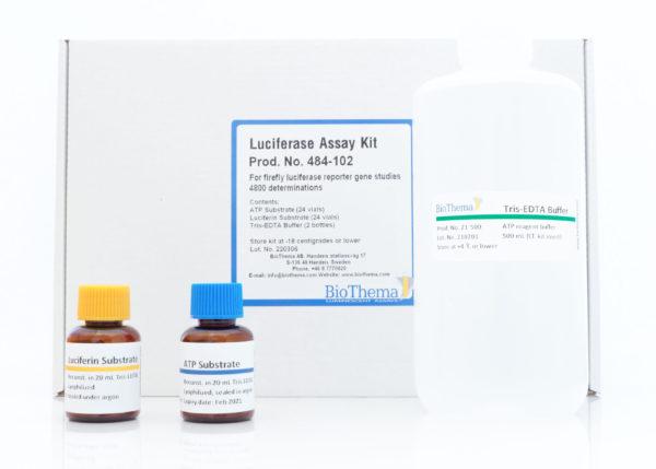 Biothema/Luciferase assay HTS Kit w/o disp./484-002