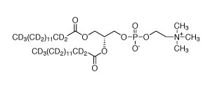 CIL(cambridge isotope laboratory)/L-A-PHOSPHATIDYLCHOLINE, DIMYRISTOYL  (DMPC) (DIMYRISTOYL-D54, 97%) 95% CHEMICAL PURITY/0.1 G/DLM-605-0.1