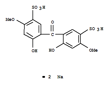 AshIngredients/Disodium 2,2'-dihydroxy-4,4'-dimethoxy-5,5'-disulfobenzophenone/76656-36-5
