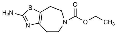 Medicalisotopes/2-Amino-4,5,7,8-tetrahydro-6-(N-carbethoxy)thiazolo[5,4-d]azepine/25 mg/6802