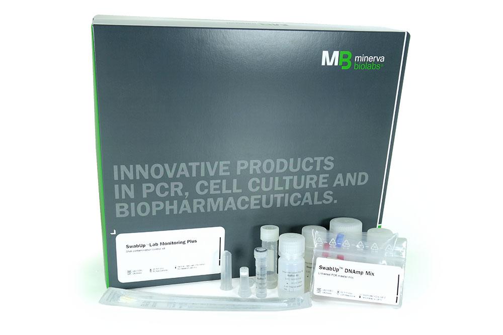Minerva-biolabs/SwabUp™ Lab Monitoring Plus/182-0050/50 applications (125 PCR reactions)