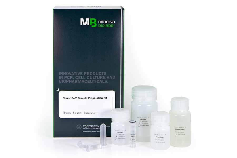 Minerva-biolabs/Venor®GeM Sample Preparation Kit/56-1200/200 extractions