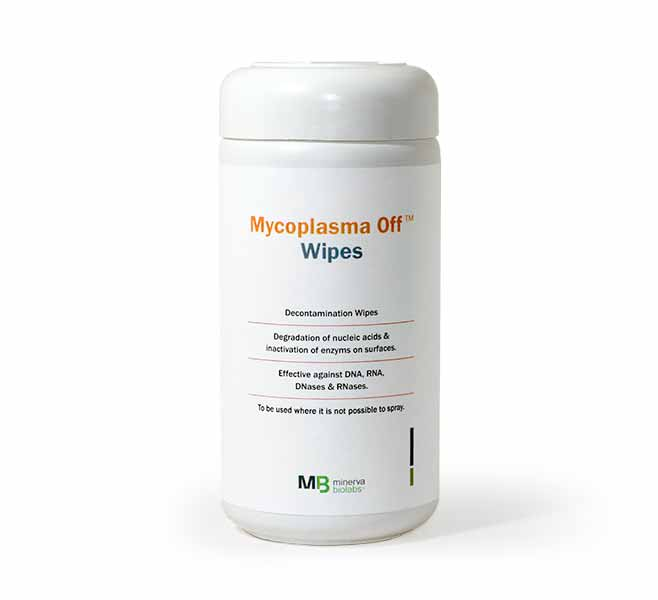 Minerva-biolabs/Mycoplasma-Off™ Wipes/15-5001/5 refill bags with 120 wipes each