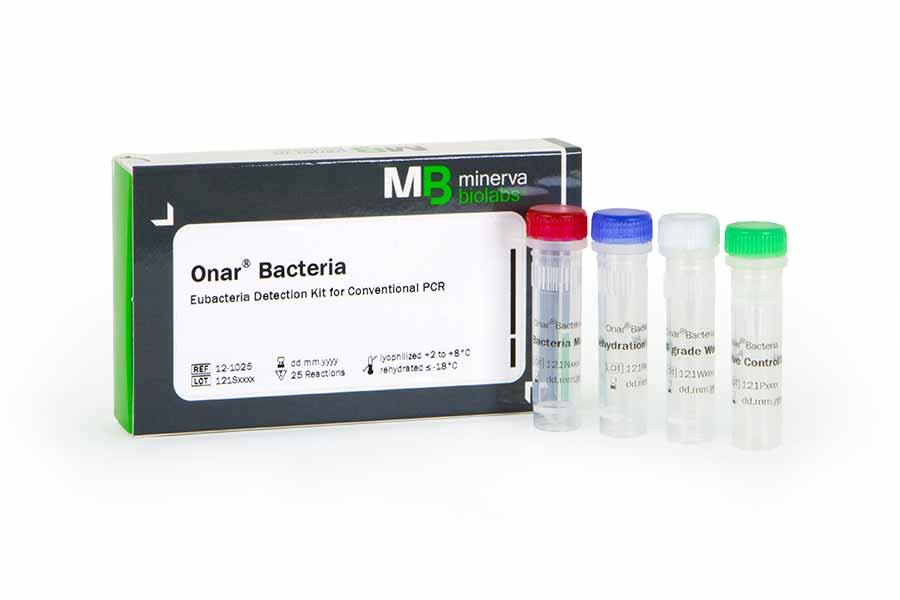 Minerva-biolabs/Onar® Bacteria/12-1025/25 Tests