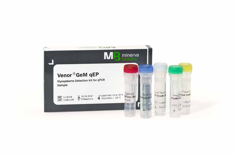 Minerva-biolabs/Venor®GeM qEP/11-9025/25 tests