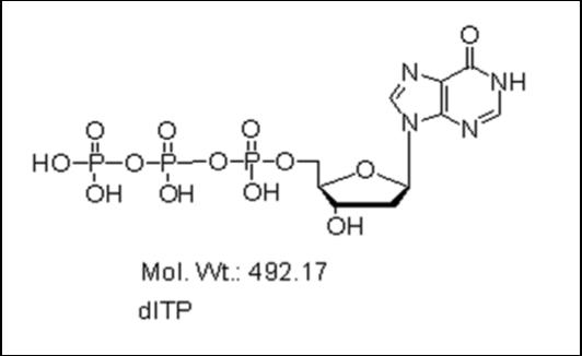 Mychem/2\'-Deoxyinosine-5\'-Triphosphate/M-1006/5 µmole