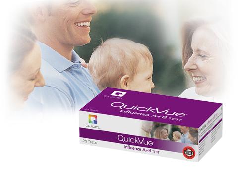 Quidel/QuickVue Influenza A+B Test/20183 US/25/12